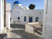 Greek traditional church. A greek traditional church at Sifnos Island Royalty Free Stock Photos