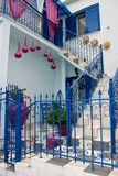 Greek traditional house Stock Images