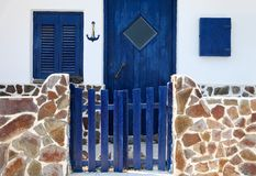Greek traditional house Royalty Free Stock Photography