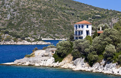Greek traditional house Royalty Free Stock Photo