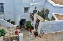 Greek traditional house Royalty Free Stock Image