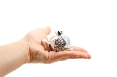 Greek traditional lucky  silve Royalty Free Stock Photos