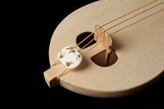 Greek traditional musical instrument, Thrakian lyra. Royalty Free Stock Photos