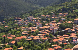 Greek traditional village at Arkadia, Stock Photos