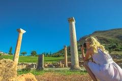 Greek Travel Photographer royalty free stock photos