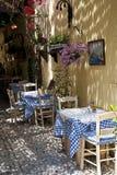 Greek Traverna Stock Photography