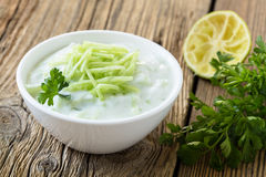 Greek Tzatziki dip Royalty Free Stock Images