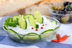 Greek Tzatziki Stock Photo