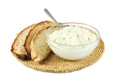 Greek tzatziki sauce Stock Image