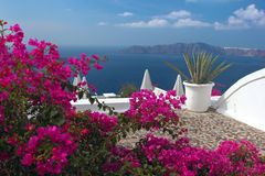 Greek vacations Stock Photos