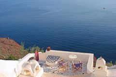 Greek vacations Stock Photography