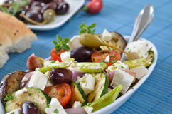 Greek vegetables Stock Photos