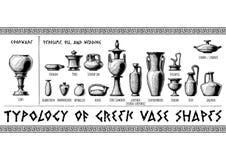 Free Greek Vessel Shapes. Stock Images - 107266434