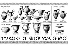 Free Greek Vessel Shapes. Stock Photography - 107266472