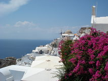 Greek village Royalty Free Stock Images