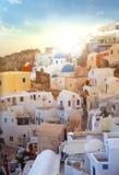 Greek village Stock Photo