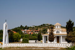 Greek village Royalty Free Stock Photo