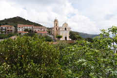 `The Greek village` in Corsica Royalty Free Stock Image