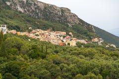 Greek Village Stock Photography