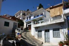 Greek village Royalty Free Stock Image