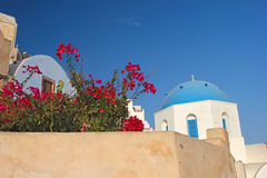 In a greek village Stock Images