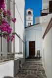 Greek village Stock Photos