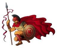 Greek warrior Stock Photography