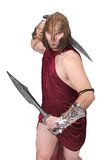 Greek warrior Stock Photo