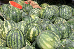 Greek Watermelons Royalty Free Stock Images