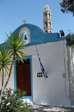 Greek White Church Stock Image