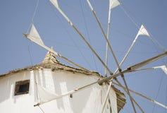 Greek Windmill Royalty Free Stock Photography