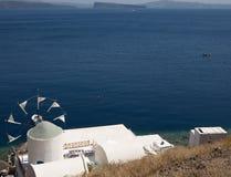 Greek Windmill Royalty Free Stock Photo