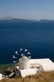 Greek windmill Stock Images