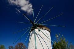Greek windmill Royalty Free Stock Image