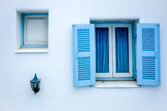 Greek Window Royalty Free Stock Images
