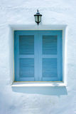 Greek Window Royalty Free Stock Image