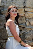 Greek woman Royalty Free Stock Photography