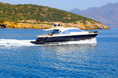 Greek yachts royalty free stock photo