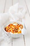Greek Yoghurt in a Bowl Stock Photo