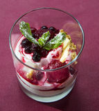 Greek yogurt Royalty Free Stock Photo