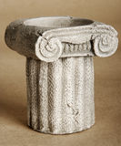 Greeks pillar model royalty free stock image