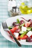 Greeksalad stock image