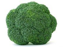 green świeżą występować samodzielnie w white warzywnym Obrazy Stock