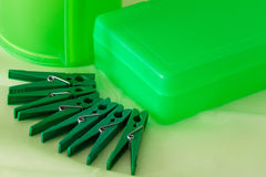 Only green Royalty Free Stock Photo