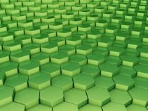 Green 3d background Royalty Free Stock Photos