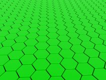 Green 3d background Stock Photo