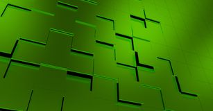 Green 3D Background Stock Images