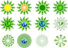 green, royalty ilustracja