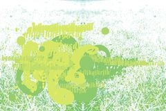 Green. Backgrounr or wallpaper in green vector illustration