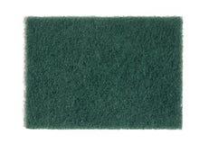 Green abrasive scrubbing pad Royalty Free Stock Image